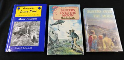 MALCOLM SAVILLE: SAUCERS OVER THE MOOR, London, George Newnes, 1955, 1st edition, original cloth,