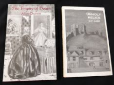 M P DARE: UNHOLY RELICS AND OTHER UNCANNY TALES, Ashcroft, British Columbia, 1997 (500), original