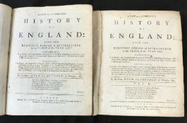 HUGH CLARENDON: A NEW AND AUTHENTIC HISTORY OF ENGLAND, London for J Cooke, circa 1770, 2 vols,