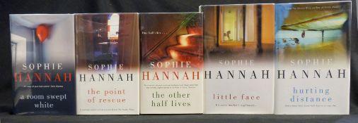 SOPHIE HANNAH: 15 titles: LITTLE FAITH, London, Hodder & Stoughton, 2006, 1st edition, original