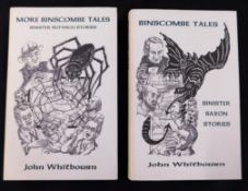 JOHN WHITBOURN: TWO TALES, BINSCOMBE TALES, SINISTER SAXON STORIES, Ashcroft, British Columbia,