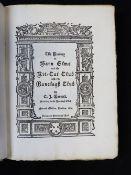 C J BARRETT: THE HISTORY OF BARN ELMS AND THE KIT-KAT CLUB NOW THE RANELAGH CLUB, London, 1889,