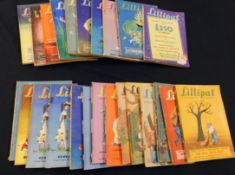 LILLIPUT, 22 assorted issues, 1946 (1), 1947 (1), 1949 (2), 1951 (2), 1952 (8), 1953 (8 inc one