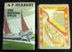 A P HERBERT: 2 titles: THE WATER GIPSIES, London, Methuen, 1930, 1st edition, 1st issue, 8pp adverts