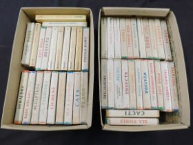 Two boxes Observer books, 45 assorted titles, 44 with d/ws