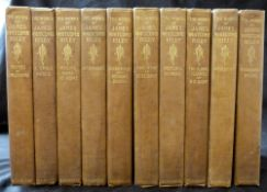"""JAMES WHITCOMB RILEY: THE WORKS, New York, Charles Scribners Sons, 1899, 10 vols """"Homestead"""""""