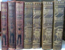 [FRANCIS CHILTON YOUNG] (ED): 2 titles: AMATEUR WORK ILLUSTRATED, London, Ward Lock circa 1884-85,