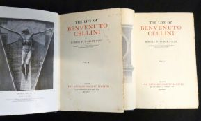 ROBERT HENRY HOBART CUST: THE LIFE OF BENVENUTO CELLINI, London, The Navarre Society, 1935, 2