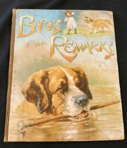 ANON: BARKS AND REMARKS AND SOME OF HIS LARKS BY OUR DOG DASH, London, Ernest Nister, New York, E