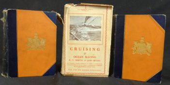 SIR EDWARD SULLIBAN AND OTHERS: YACHTING, London, Longmans, Green & Co, 1894, 1st edition, 2 vols,
