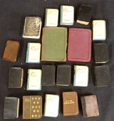 Packet: 21 assorted miniature and small format books including THE BOOK OF COMMON PRAYER,