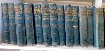 THE STRAND MAGAZINE, 1891-95, 1897-98, vols 1-7, 9-10, 13-16, all with Sir Arthur Conan-Doyle