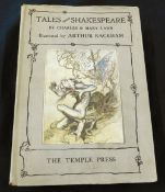 CHARLES AND MARY LAMB: TALES FROM SHAKESPEARE, Ill A Rackham, London, The Temple Press [1939], 12