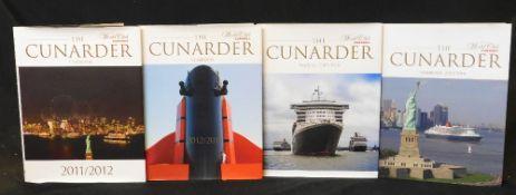 THE CUNARDER YEAR BOOK 2011/2012 - 2017/2018, 7 vols, 4to, original cloth d/ws, vgc (7)