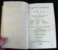 HANNAH ROBERTSON, GRAND-DAUGHTER TO CHARLES II: THE LADIES SCHOOL OF ARTS CONTAINING INSTRUCTIONS IN