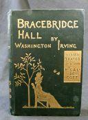 WASHINGTON IRVING: BRACEBRIDGE HALL, ill Randolph Caldecott, London, MacMillan, 1887, 1st edition, 8