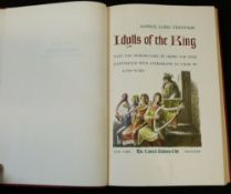 ALFRED LORD TENNYSON: IDYLLS OF THE KING, intro Henry van Dyke, ill Lynd Ward, New York, Limited