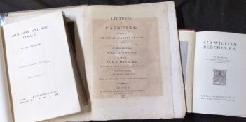 JOHN OPIE: LECTURES ON PAINTING DELIVERED AT THE ROYAL ACADEMY OF ARTS..., London for Longman,