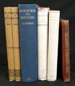 SIR J J THOMSON: RECOLLECTIONS AND REFLECTIONS, London, G Bell & Sons, 1936, 1st edition, original