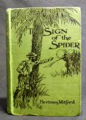 BERTRAM MITFORD: THE SIGN OF THE SPIDER, ill James Greig, London, Methuen, 1897, 3rd edition, 4