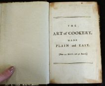 """HANNAH GLASSE """"A LADY"""": THE ART OF COOKERY MADE PLAIN AND EASY..., London, Mrs Ashburn's China"""