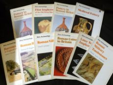 SHIRE ARCHAEOLOGY, 1975-89, 31 assorted issues + SHIRE EGYPTOLOGY, 1984-87, nos 1-6, original