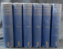 CHARLES LAMB: THE LIFE LETTERS AND WRITINGS, ed Percy Fitzgerald, London, John Slark, 1886, 1st