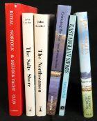 JOHN LEATHER: 2 titles: THE NORTHSEAMAN, Lavenham, Terence Dalton, 1978 reprint, original cloth, d/