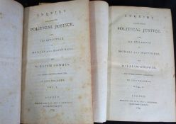 WILLIAM GODWIN: ENQUIRY CONCERNING POLITICAL JUSTICE AND ITS INFLUENCE ON MORALS AND HAPPINESS,