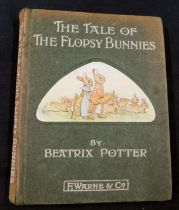 BEATRIX POTTER: THE TALE OF THE FLOPSY BUNNIES, London and New York, Frederick Warne, 1909, 1st
