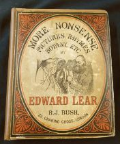 EDWARD LEAR: MORE NONSENSE PICTURES, RHYMES, BOTANY ETC, London, Robert John Bush, 1872 [1874],