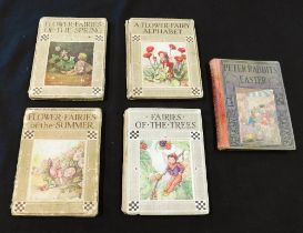 CICELY MARY BARKER: 4 titles: all pub London, Blackie - comprising FLOWER FAIRIES OF THE SPRING,