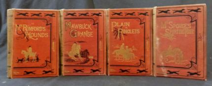 ROBERT SMITH SURTEES: 4 titles: all published London, Bradbury Agnew circa 1890, printed for