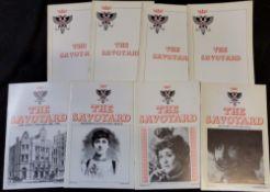 THE SAVOYARD, London, The D'Oyly Carte Opera Trust, 1962-82, vols 1-21 complete, 60 parts plus