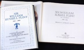 KEITH S GARDNER & NIGEL D CLARK: SIR WILLIAM RUSSELL FLINT 1880-1969, A COMPARATIVE REVIEW OF THE