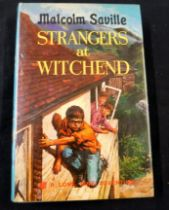 MALCOLM SAVILLE: STRANGERS AT WITCHEND, London, Collins, 1970, 1st edition, inscription on ffep,