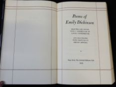 EMILY DICKINSON: POEMS, ed Louis Untermeyer, ill Helen Sewell, New York, Limited Editions Club