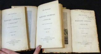 [RICHARD COBBOLD]: THE HISTORY OF MARGARET CATCHPOLE, A SUFFOLK GIRL, London, Henry Colburn, 1845,
