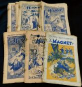 THE MAGNET, assorted issues, 1932 (1), 1933 (1), 1937 (1), 1938 (14), 1939 (12), 1940 (3), staples