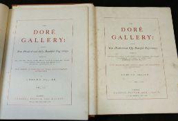 EDMUND OLLIER (ED): THE DORE GALLERY..., London, Cassell, Petter & Galpin, circa 1870, 2 vols, 250