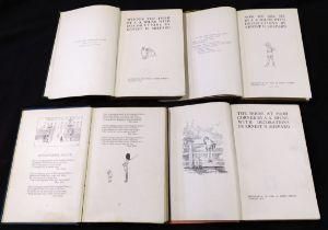 ALAN ALEXANDER MILNE: 4 titles: WINNIE-THE-POOH, ill E H Shepard, London, Methuen, 1926, 1st