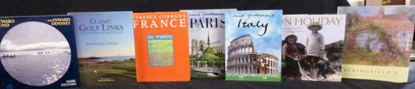 DAVID GENTLEMAN: 2 titles: DAVID GENTLEMAN'S PARIS, London, Hodder & Stoughton, 1991, 1st edition,