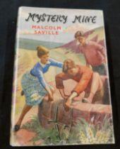MALCOLM SAVILLE: MYSTERY MINE, London, George Newnes, 1959, 1st edition, original cloth bright