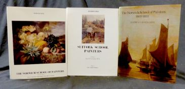 HAROLD E A DAY: 2 titles: SUFFOLK SCHOOL PAINTERS, Eastbourne Fine Art, 1971, 2nd edition, (East