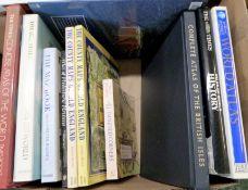 Box: modern atlases etc, from the collection of Derek Cottam