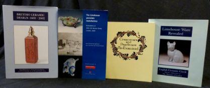DAVID DRAKARD (ED): LIMEHOUSE WARE REVEALED, English Ceramic Circle, 1993, 1st edition, 4to,