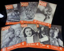 Box: PICTURE POST, assorted issues, 1940 (1), 1948 (17), 1949 (16), 1950 (5), 1951 (3), 1953 (3),