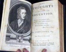 JOHN LOCKE: SOME THOUGHTS CONCERNING EDUCATION, Edinburgh for J Brown, 1752, 12th edition,