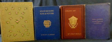 GEORGE WOOLISCROFT RHEAD & FREDERICK ALFRED RHEAD: STAFFORDSHIRE POTS AND POTTERIES, London,
