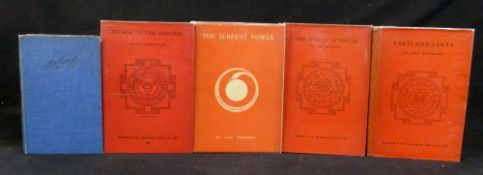 "SIR JOHN GEORGE WOODROFFE ""ARTHUR AVALON"": 3 titles: THE SERPENT POWER, Madras, Ganesh & Co, 1964,"